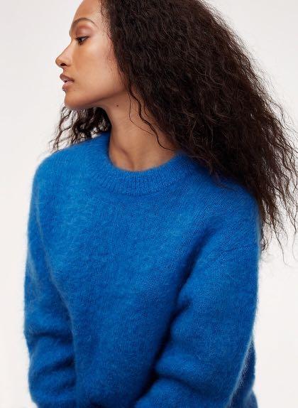 Wilfred Serment Sweater in Grey
