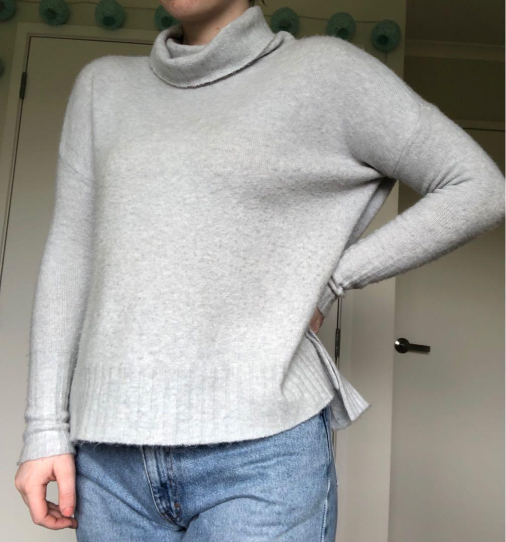 Wool Turtleneck knit jumper