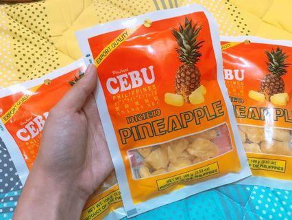 菲律賓宿務 鳳梨乾 100g (5包送1)