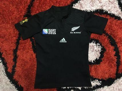 All Black Rugby World Cup 2015 Jersey