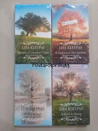 SET Wallflower Series by Lisa Kleypas