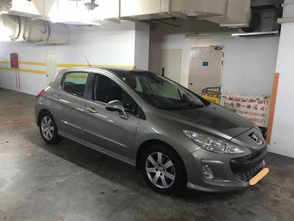 Peugeot 308 1.6A Turbo Silver  2011 Selling at RM9,700 siap