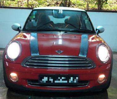 Mini Cooper 1.6A Selling at RM9,000 siap