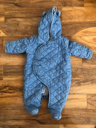 Baby Gap Winter Coat Onesie (3-6 months)