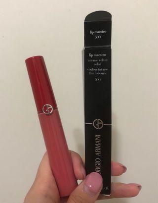 Giorgio Armani 奢華絲絨訂製唇萃