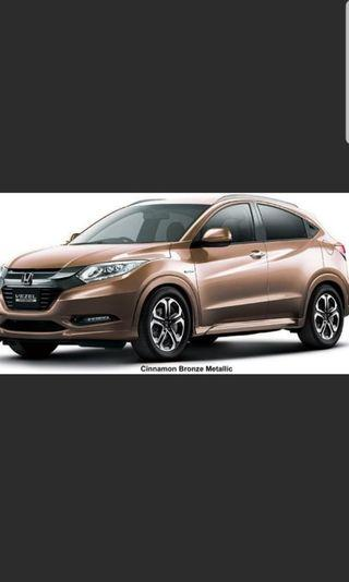 Honda vezel for rent *can drive to msia* ( 7 sep - 11 sep)