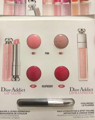Dior迪奧護唇雙天后四色卡