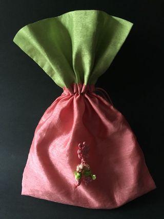 【全新】 韓國傳統福袋、糖果袋(束口袋)