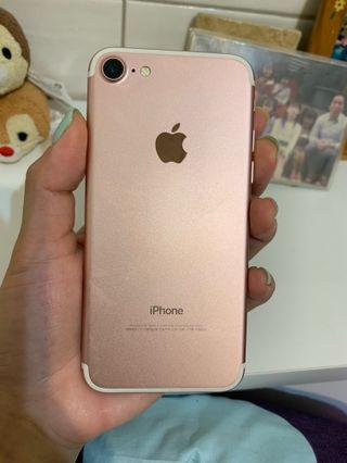 iPhone 7 玫瑰金4.7吋128g