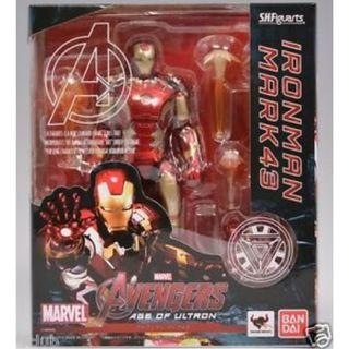 S.H.Figuarts Age of Ultron Iron Man Mark 45 - New MISB