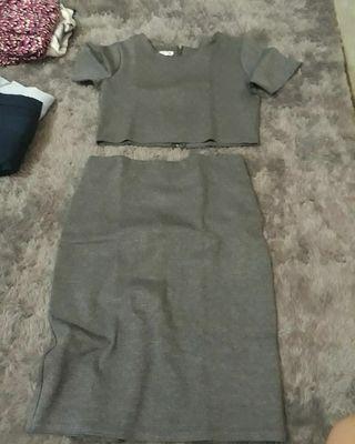 Korean grey set