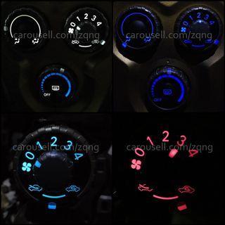 Toyota Vios NCP93 Lightings