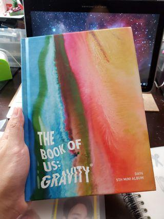 DAY6 The Book of Us: Gravity (Mate Ver.) KPOP ALBUM