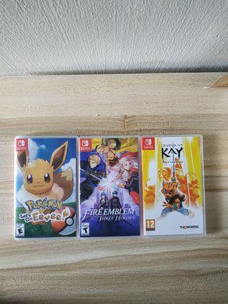 Urgent. Switch Games !