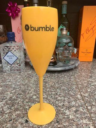 Bumble champagne flute