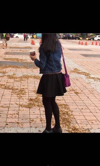 Net黑色短裙