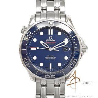 Omega Seamaster Diver Co-Axial Ceramic Blue 21230412003001