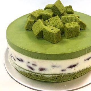 Matcha White Chocolate Mousse
