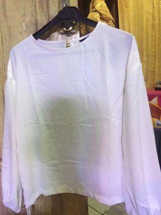 BARU Blouse/baju putih