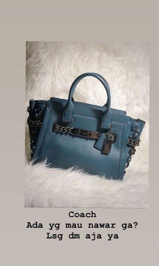 Coach Swagger 27 mineral blue
