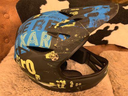GIRO MAT BLCK/BLU REMEDY越野安全帽