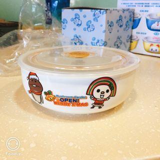 菇菇栽培陶瓷保鮮碗