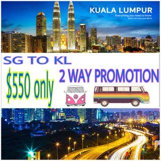 SG to KL 2WAY PROMOTION!!