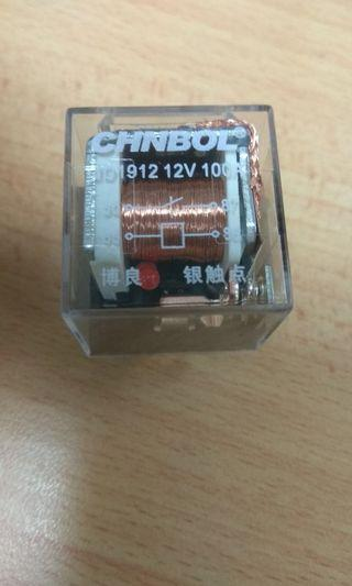 100A 4pin 12v automotive relay with led status