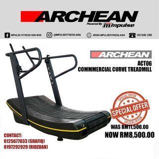 ARCHEAN ACT06 Commercial Curve Treadmill (KL)