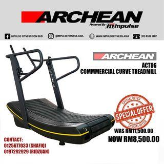 ARCHEAN ACT06 Commercial Curve Treadmill (Terengganu)