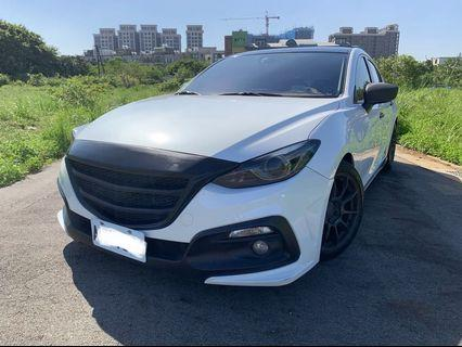 2015 Mazda 魂動馬三 四門最頂級