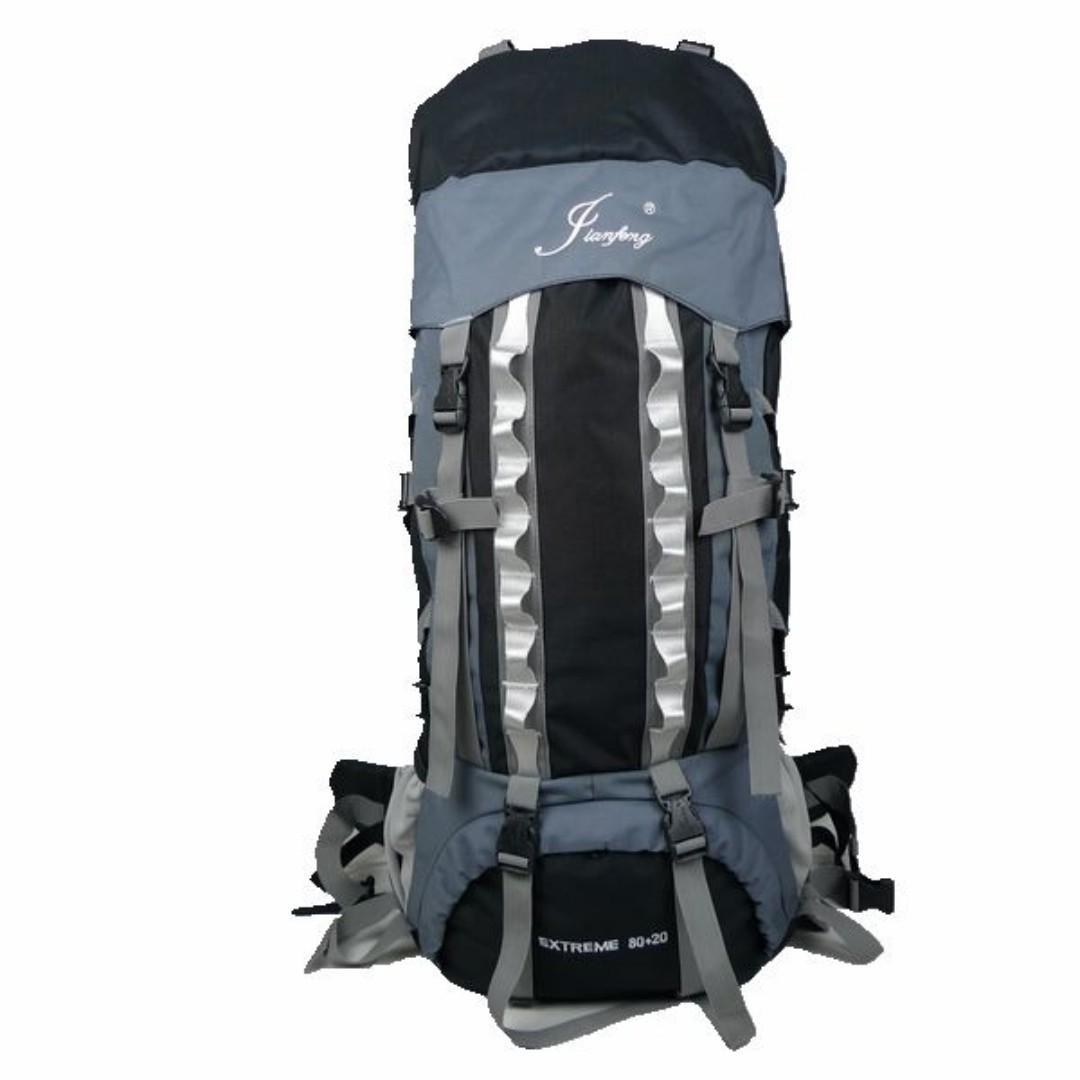 1629159 全新 80L 露營 背囊 登山包 專業 鋁板 支架 背負系統 背包 Camping Mountaineering bag