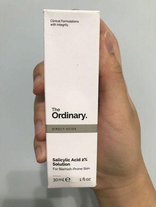 The Ordinary 2%水楊酸和金縷梅