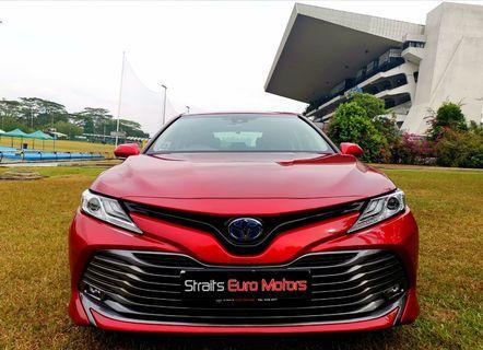 Toyota Camry Hybrid 2.5A G Toyota Sense For Rent