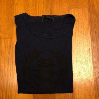 Gucci T Shirt (Size L) - Navy