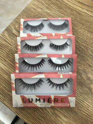 Lumiere fake lashes