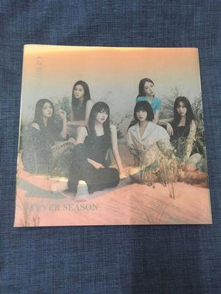[WTS] GFRIEND 7th Mini Album Fever Season (Unsealed)