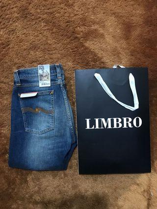 Nudie Jeans Skinny Lin Like New Size 30 ORI 100%