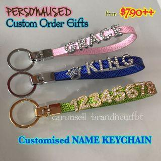 Customized Keychain custom name gifts
