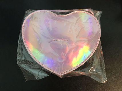 心型手拿包、心型零錢包(PAZZO贈品)