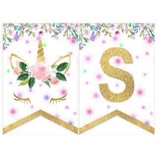 Bunting Banner - Unicorn