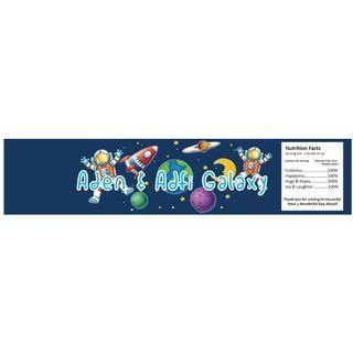 Mineral Water Bottle Wrapper - Galaxy