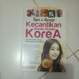Buku Tips Kecantikan Wanita Korea