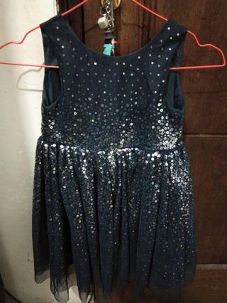 Dress Biru Anak H&M