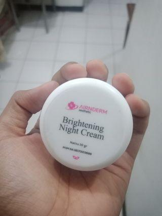 nightcream airin beauty crare