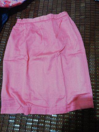 粉色窄裙 #五折出清女裝