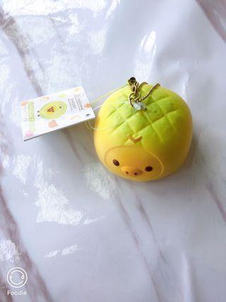 拉拉熊 /拉拉雞 菠蘿麵包吊飾 可以捏 超療癒•ू(ᵒ̴̶̷ωᵒ̴̶̷*•ू))੭ु⁾