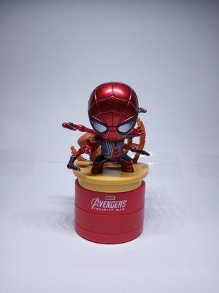 iron spiderman tesco avenger stamped