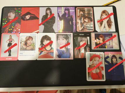 WTS Twice Momo pcs