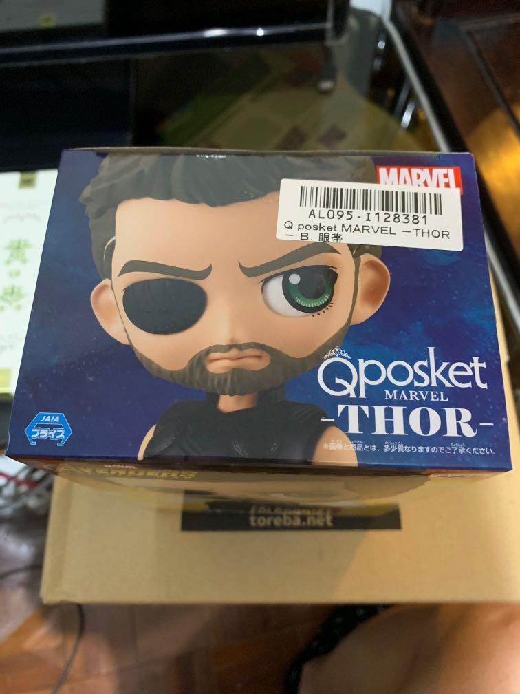 雷神 日版 qposket Thor marvel avengers figure